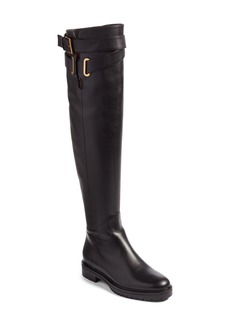 VALENTINO GARAVANI Bowrap Over the Knee Boot (Women)