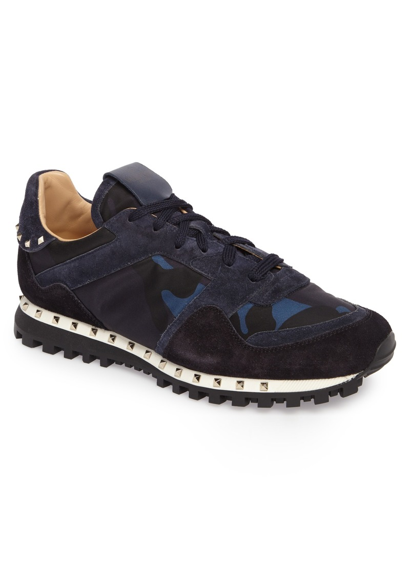 d71bb27653205 Valentino VALENTINO GARAVANI Camo Rockstud Sneaker (Men)