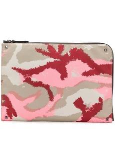Valentino Garavani Camouflage clutch bag