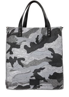 Valentino Garavani Camouflage Felt Bag