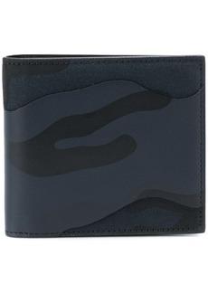Valentino Garavani camouflage print wallet