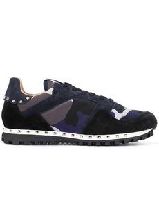 Valentino Garavani camouflage sole stud sneakers