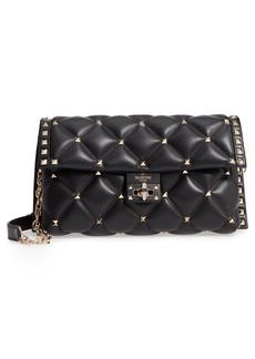 VALENTINO GARAVANI Candystud Calfskin Shoulder Bag