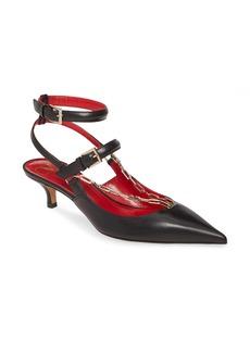 VALENTINO GARAVANI Chain Ankle Strap Pump (Women)