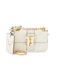 Valentino Garavani Chain Leather Shoulder Bag