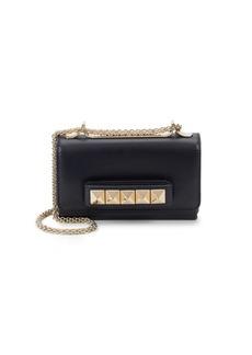VALENTINO GARAVANI Chain Strap Leather Shoulder Bag