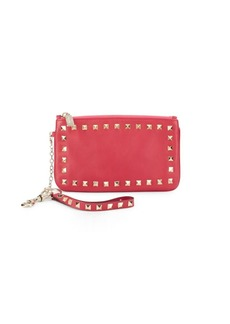 Valentino Crystal Studded Clutch