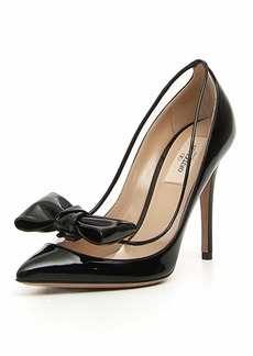 Valentino DollyBow Patent 105mm Pump