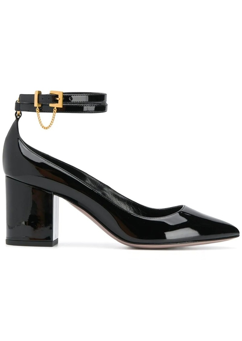 Valentino Garavani double ankle strap pumps