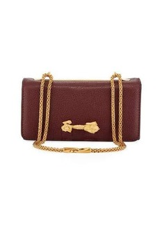 Valentino Garavani Dragon Zodiac Pebbled Shoulder Bag