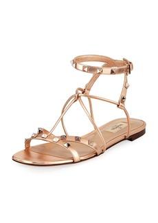 Valentino Garavani Free Rockstud Flat Sandal