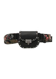 Valentino Garavani Guitar Rockstud Rolling Belt Bag/Fanny Pack