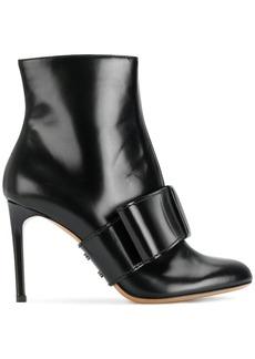 Valentino Garavani half bow ankle boots