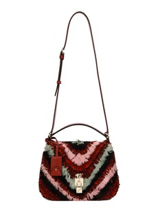 Valentino Garavani Joylock Feather Saddle Bag