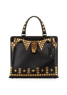 Valentino Garavani Joylock Medium Top-Handle Bag