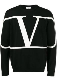 Valentino VLOGO crewneck jumper