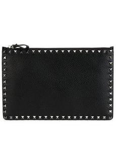 Valentino Garavani large Rockstud zip pouch