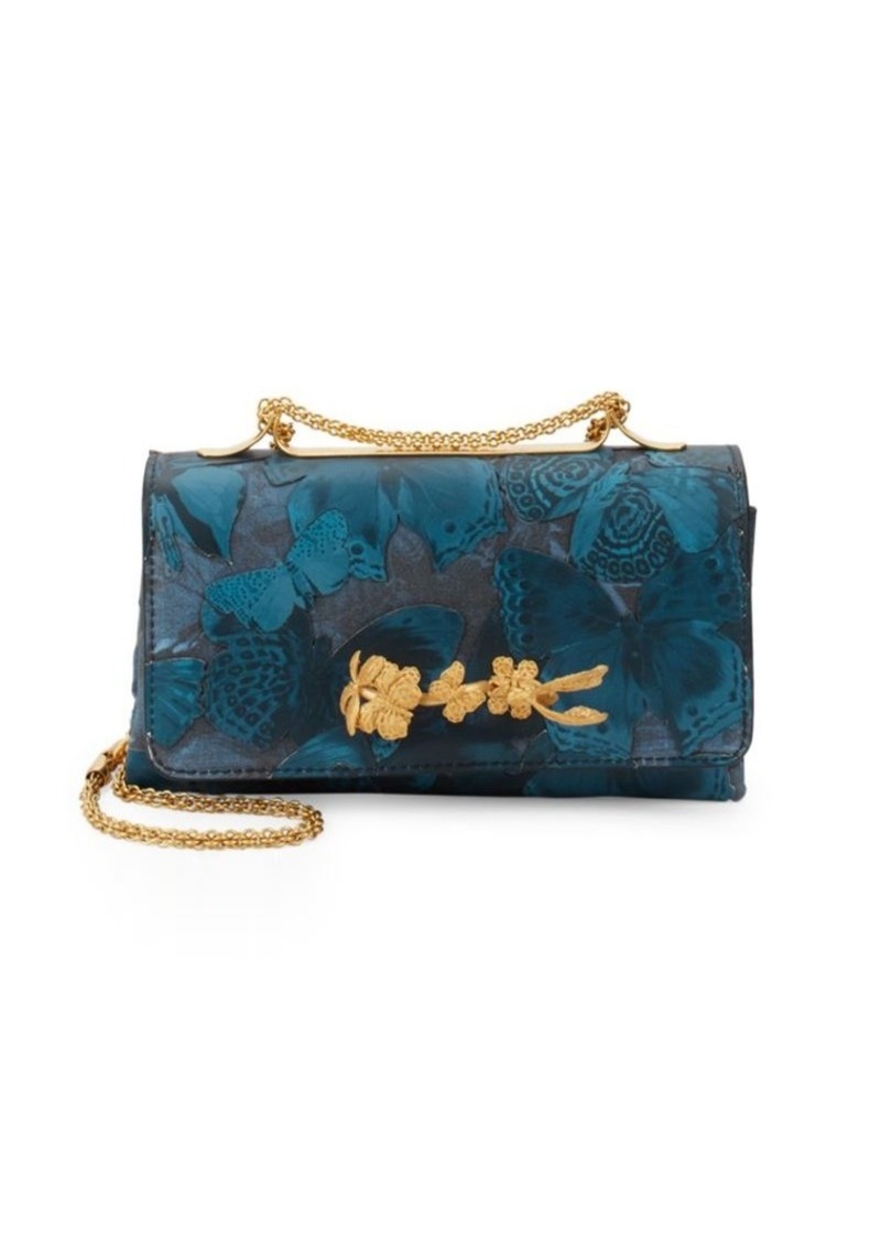 df555528f9 On Sale today! Valentino Leather Butterfly Shoulder Bag