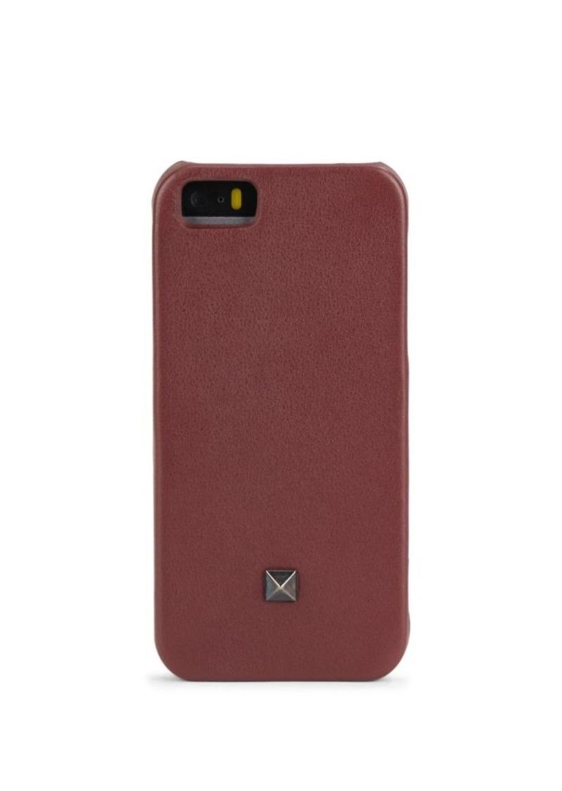 Valentino Leather iPhone Case- 5/5S