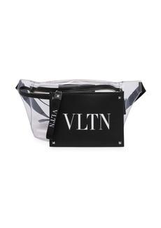 Valentino Garavani Logo Clear Belt Bag