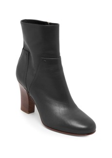 VALENTINO GARAVANI Love Stud Leather Booties