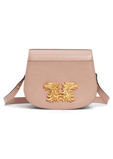 Valentino Garavani Maison Gryphon Leather Saddle Bag