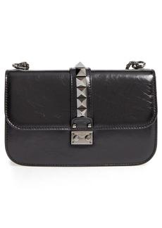 VALENTINO GARAVANI 'Medium Lock' Studded Leather Shoulder Bag