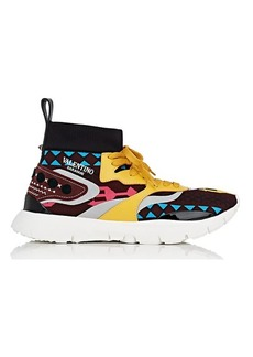 Valentino Garavani Men's Heroes Knit Sneakers