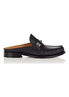 Valentino Garavani Men's Studded Leather Mules