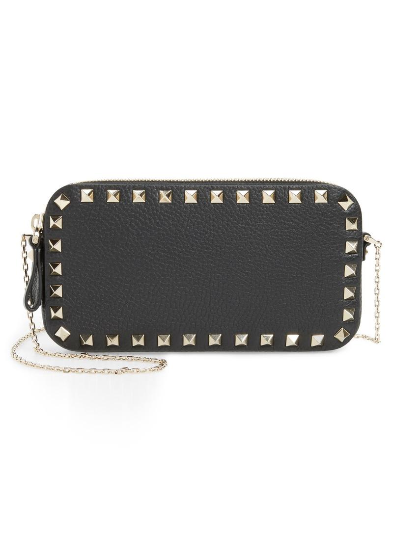 2293d4b4aa4e Valentino VALENTINO GARAVANI Mini Calfskin Leather Camera Bag