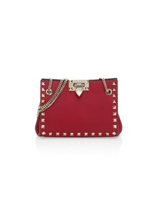 Valentino Garavani Mini Rockstud Leather Shoulder Bag