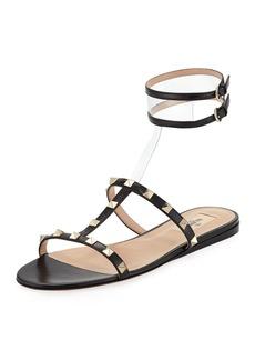 Valentino Garavani Moonwalk Rockstud Flat Sandal