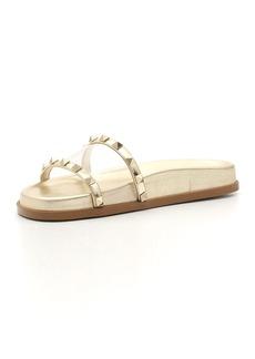 Valentino Garavani Moonwalk Rockstud Flat Slide Sandal