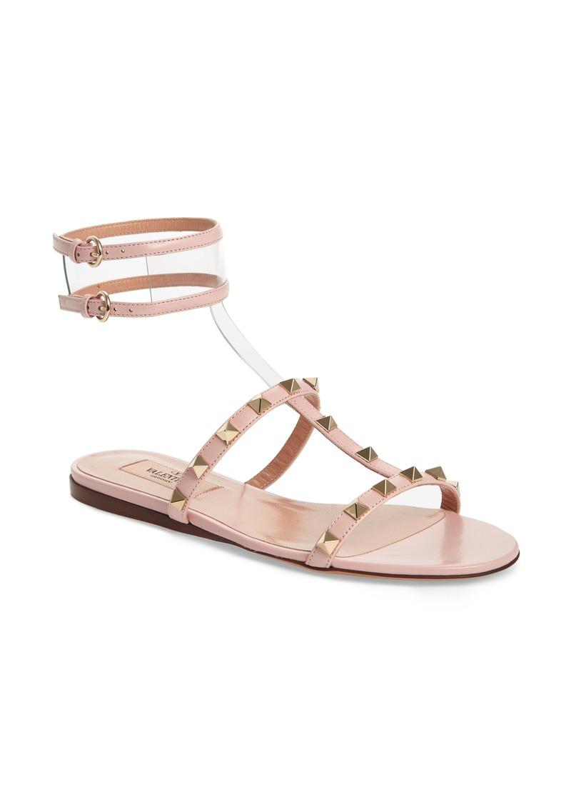 Valentino Women's Garavani Moonwalk Rockstud Sandal