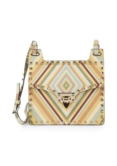 Valentino Garavani Multicolor Stud Clutch Bag