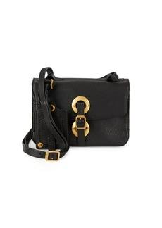 Valentino Garavani Pebbled-Leather Crossbody Bag