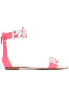 Valentino Garavani Pink Punk sandals