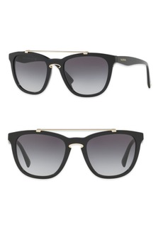 Valentino Rockloop 54MM Square Sunglasses