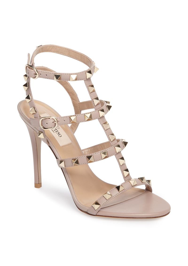 f444bf9c3bc4 Valentino VALENTINO GARAVANI  Rockstud  Ankle Strap Sandal (Women ...