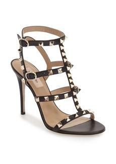 VALENTINO GARAVANI 'Rockstud' Ankle Strap Sandal (Women)