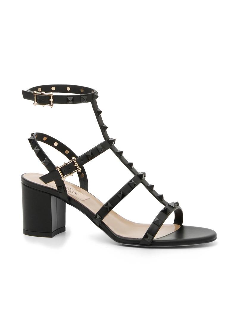 048b82faba6 Valentino VALENTINO GARAVANI Rockstud Block Heel Sandal (Women)