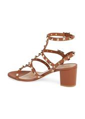 Valentino Garavani Rockstud Block Heel Sandal (Women)