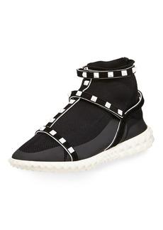 Valentino Garavani Rockstud Body-Tech Sock Sneaker