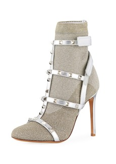 Valentino Garavani Rockstud Bodytech Sock Booties