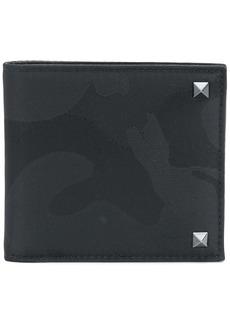 Valentino Garavani Rockstud camouflage wallet