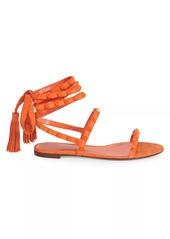 Valentino Garavani Rockstud Flair Ankle-Wrap Sandals