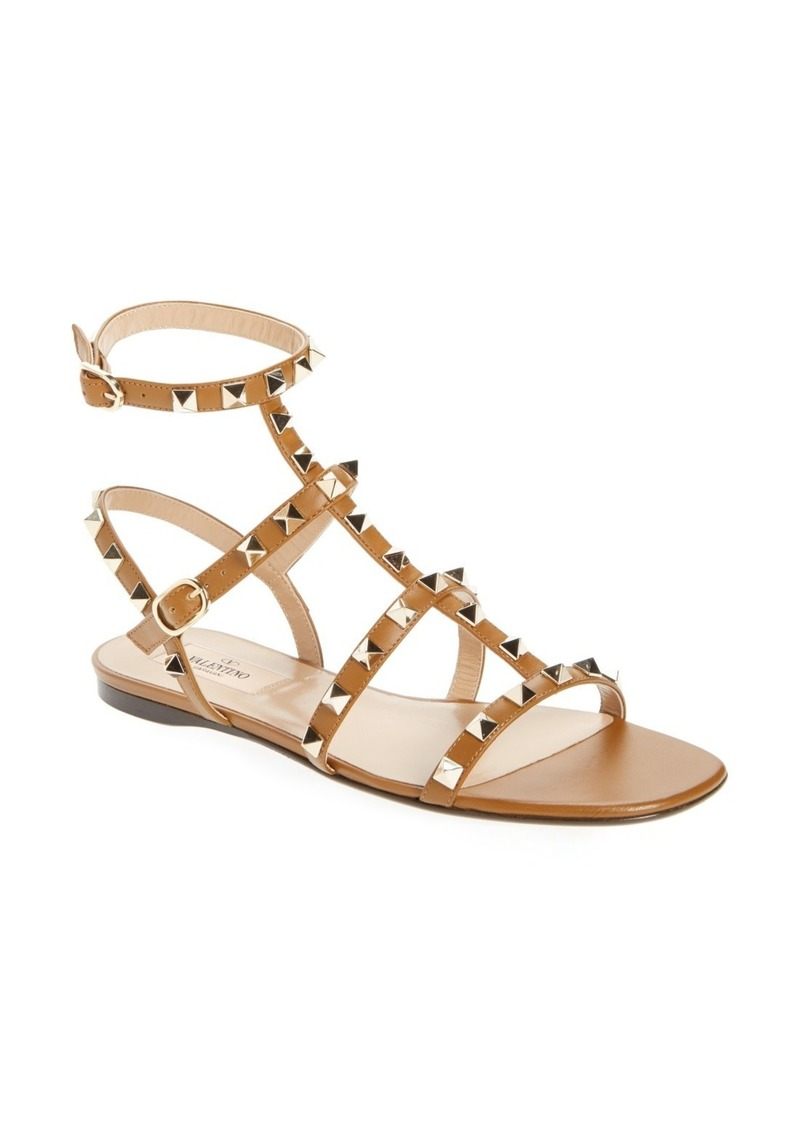 712cdd2d70 Valentino VALENTINO GARAVANI Rockstud Gladiator Sandal (Women) | Shoes