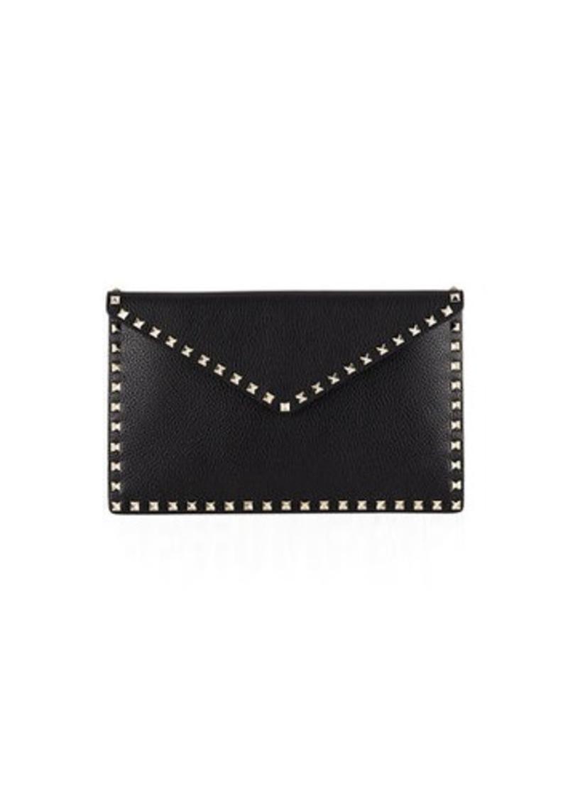 d25a13941e35c Valentino Rockstud Large Envelope Clutch Bag