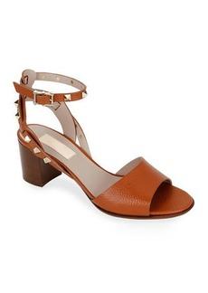 Valentino Garavani Rockstud Leather Ankle-Strap Sandals