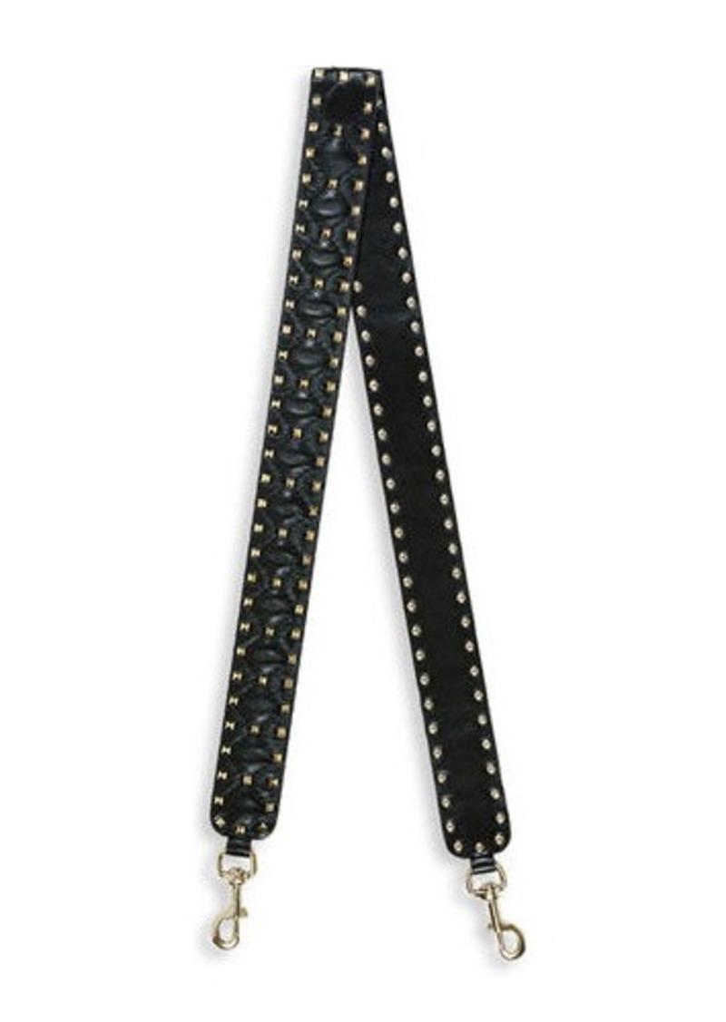 4d41443255 Valentino Rockstud Leather Guitar Strap for Handbag | Handbags